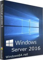 Коробка Windows Server 2016 x64